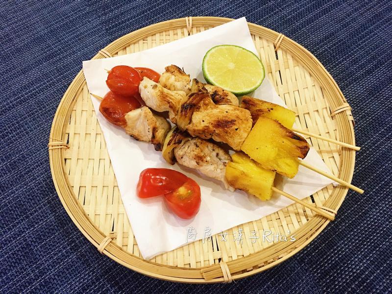 低卡鳳梨雞肉串