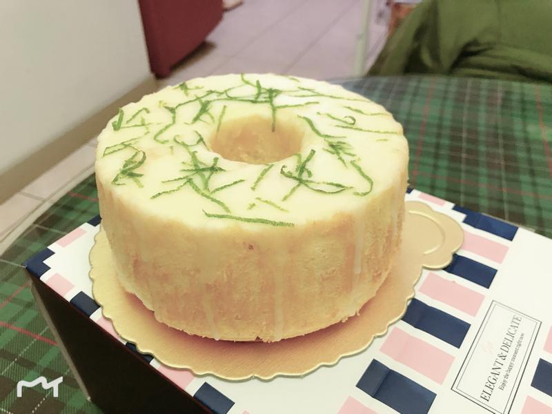 檸檬糖霜戚風蛋糕(6吋)