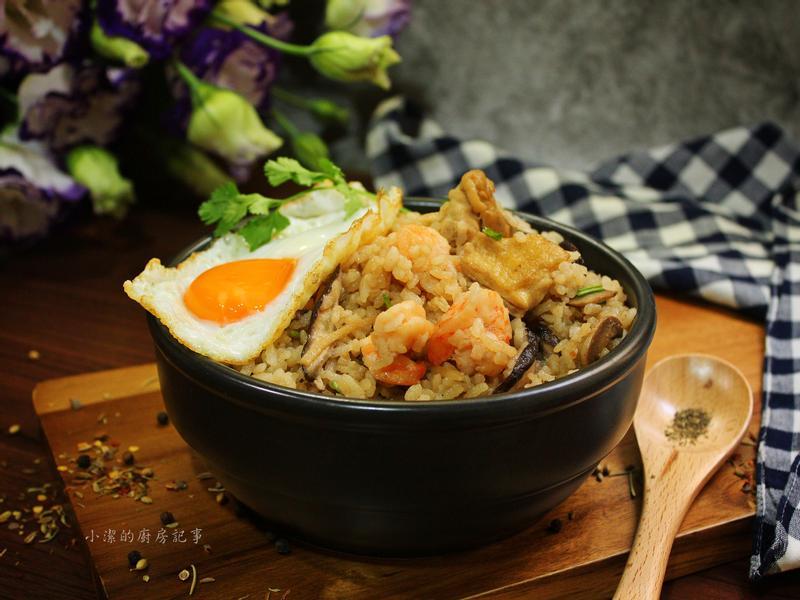 【薩索雞】香菇麻油雞飯