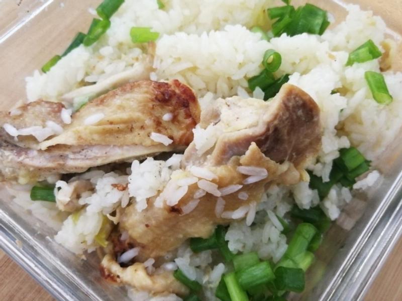 蔥燒雞腿飯☆懶人料理
