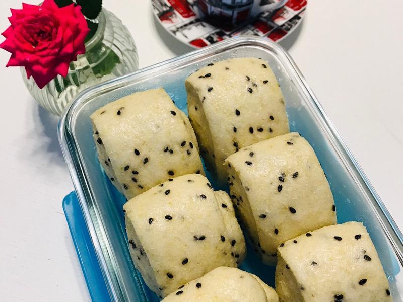 黑豆渣饅頭Soyo buns