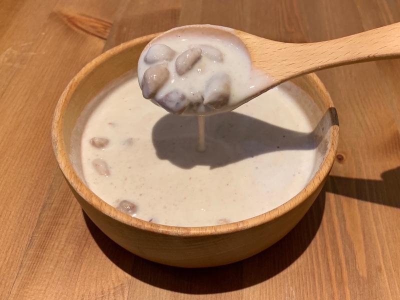【寶寶食譜】牛奶花生湯(無糖)