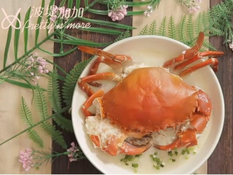 干貝螃蟹粥