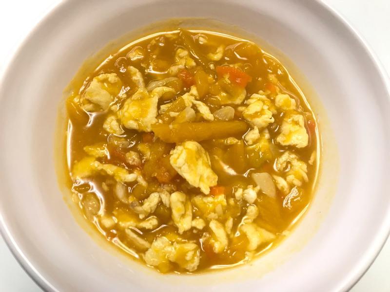 👩🏻🍳南瓜雞蛋-快速簡單好營養