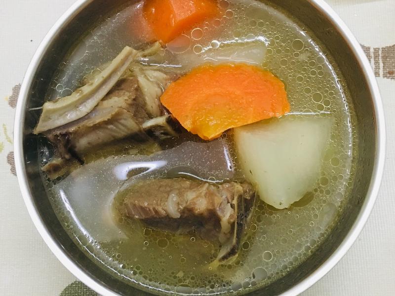[低醣飲食]煮清燉羊肉湯(萬用鍋適用)