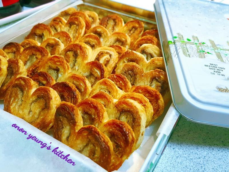 過年篇の富貴蝴蝶酥餅