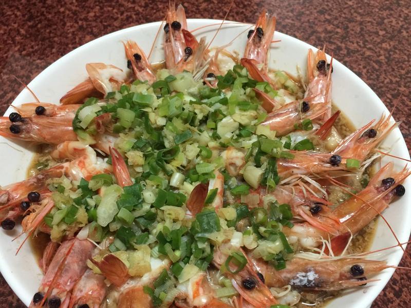 蔥蒜蒸蝦🦐