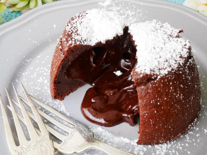 熔岩巧克力蛋糕【氣炸鍋版】