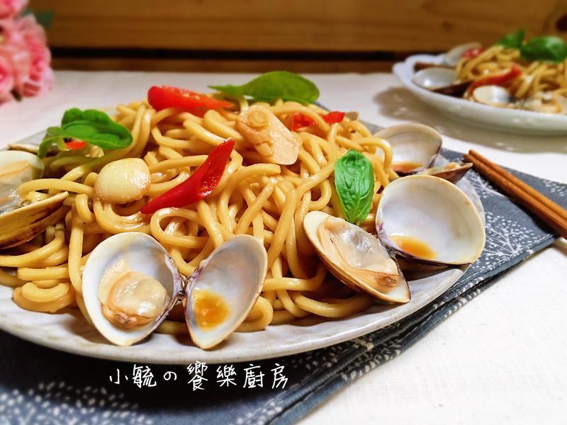 三杯蛤蜊炒麵~15分鐘快速上桌