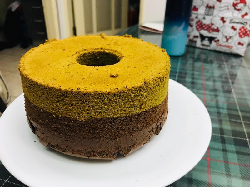 茶樹雙色戚風蛋糕(6吋)