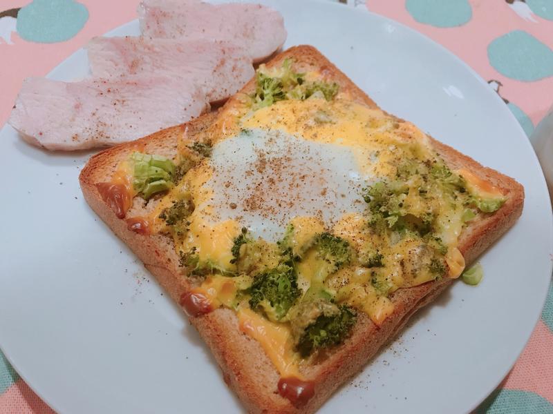 花椰菜蛋披薩🍕