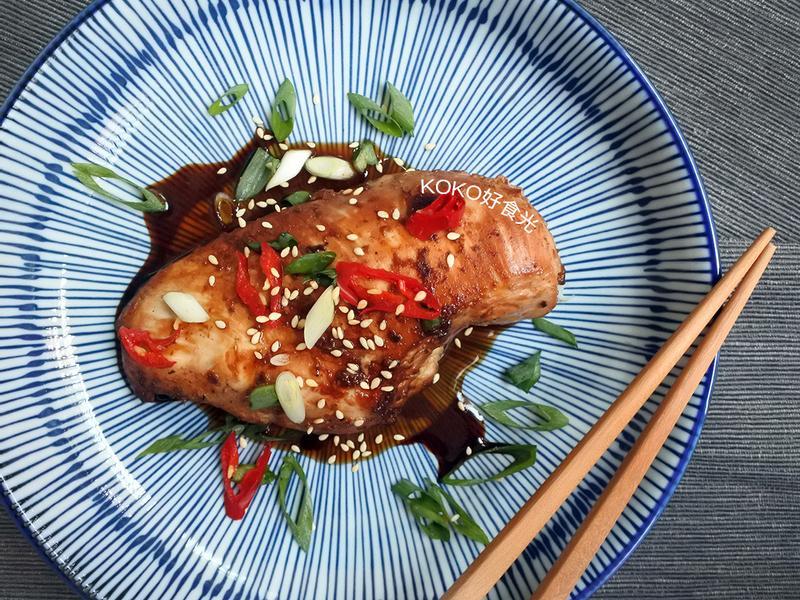 中華風蜂蜜醬油煎雞胸