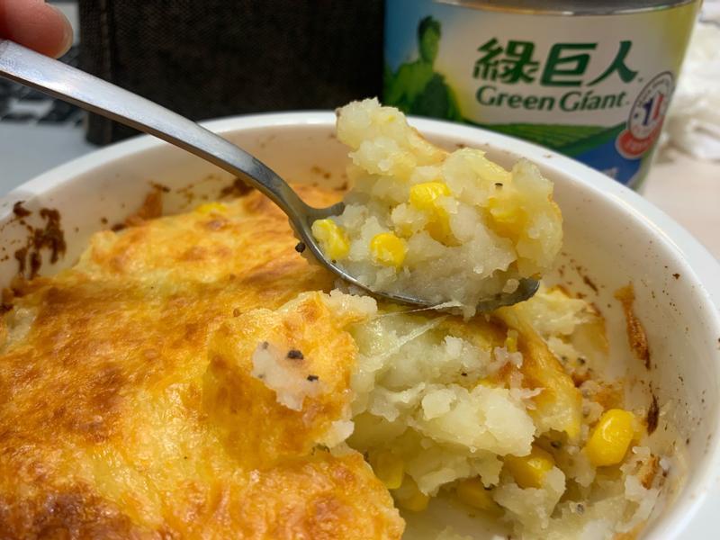 焗烤玉米薯泥