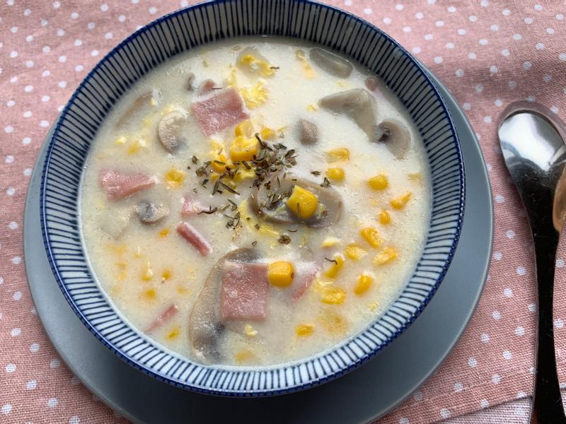 家常料多多玉米濃湯