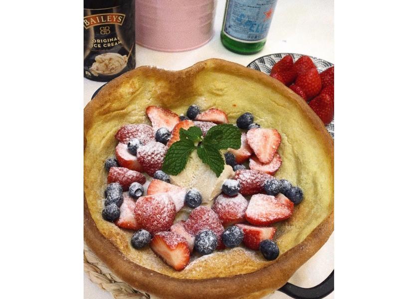 莓果荷蘭鬆餅 Dutch baby
