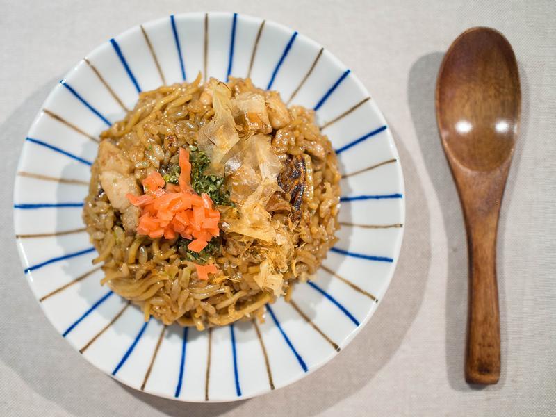 神戶名物 炒麵飯