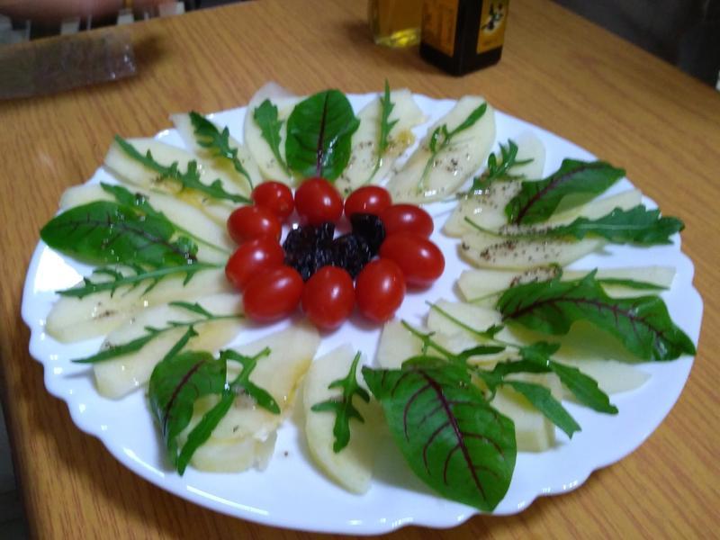 紅酸膜蔬果沙拉
