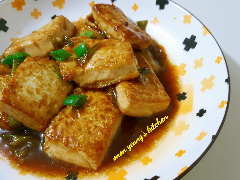 簡易紅燒豆腐 🍱 新手。家常菜。晚餐