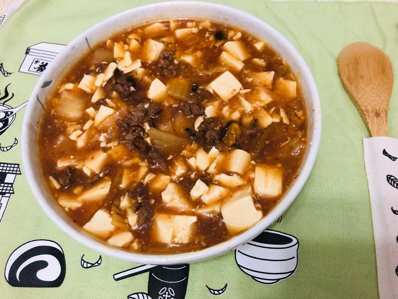 牛肉泡菜豆腐煲(無技巧無味精)