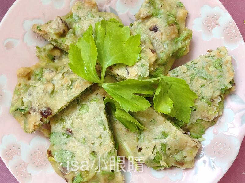 芹菜葉煎餅🌱