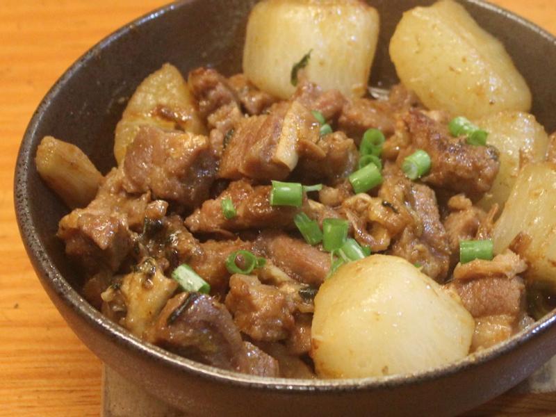 蘿蔔燉羊肉(塔吉鍋)