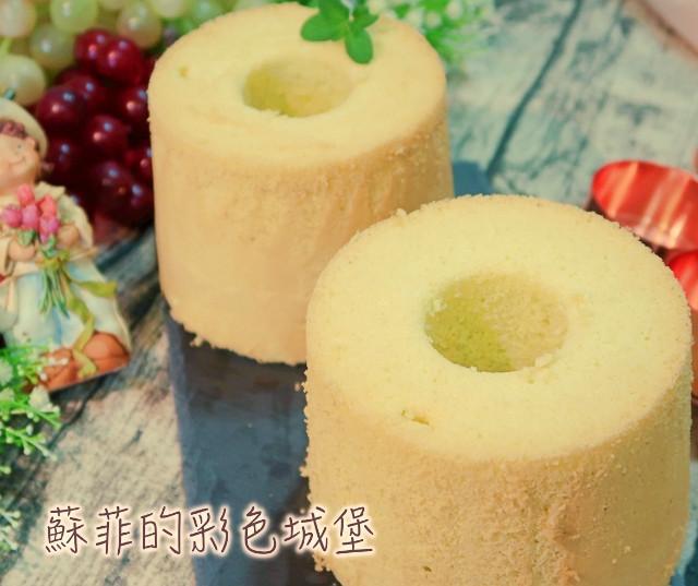『超彈性』椰香綠斑蘭戚風蛋糕