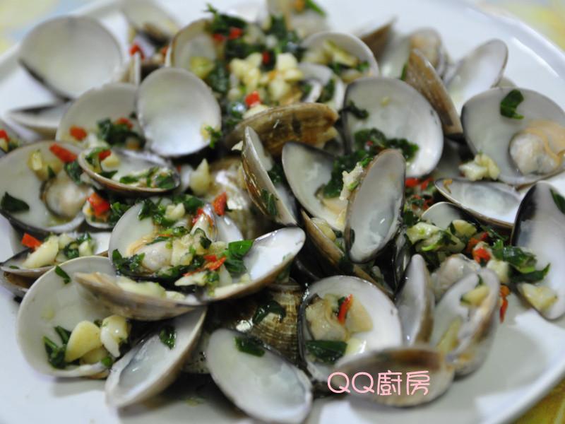 【黃金玄米油清爽料理】塔香蒜末蛤蜊