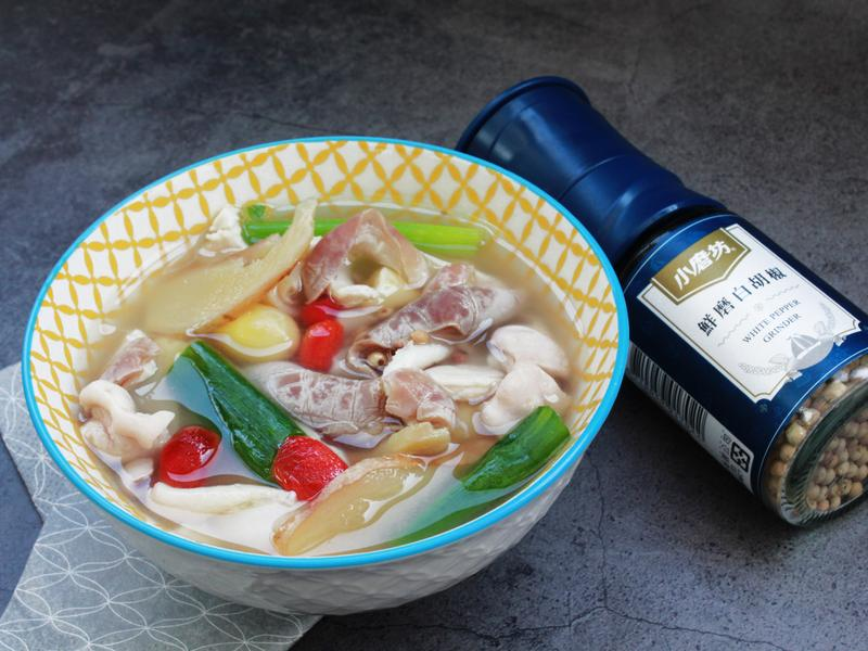 白胡椒豬肚白果湯
