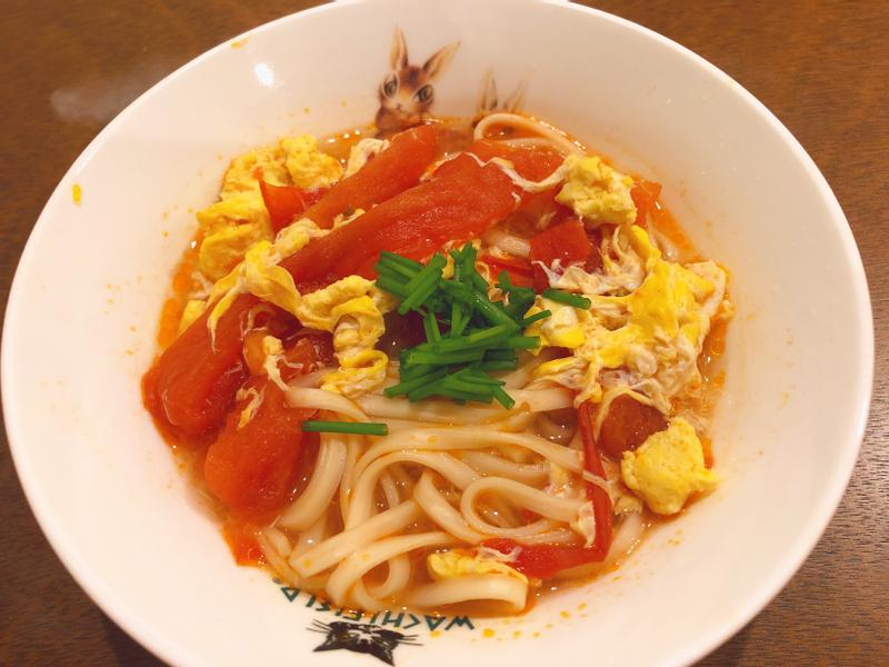 番茄雞蛋麵(飛利浦微電鍋)