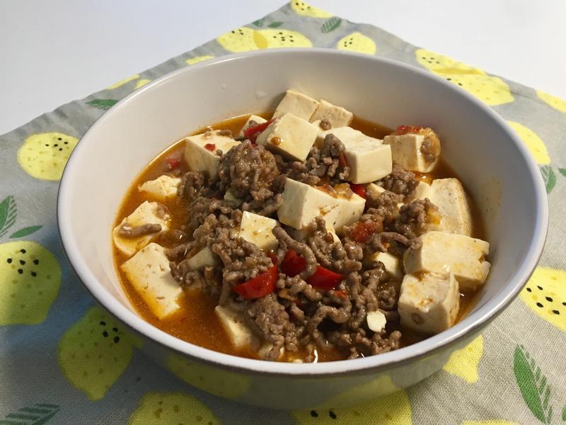 簡單麻婆豆腐