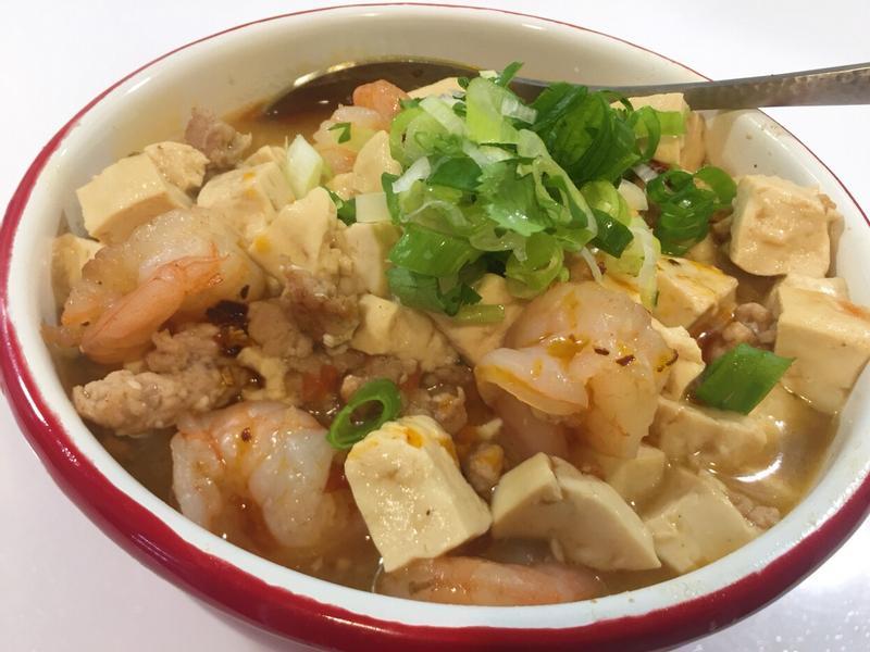 肉末蝦仁豆腐