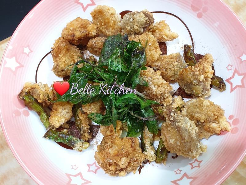 素食鹹酥雞
