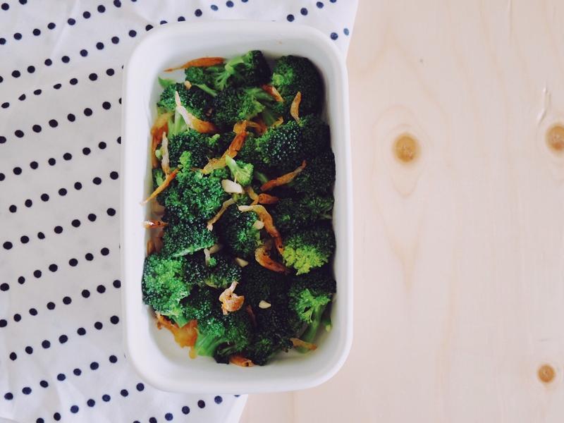 常備菜#8 - 櫻花蝦花椰菜