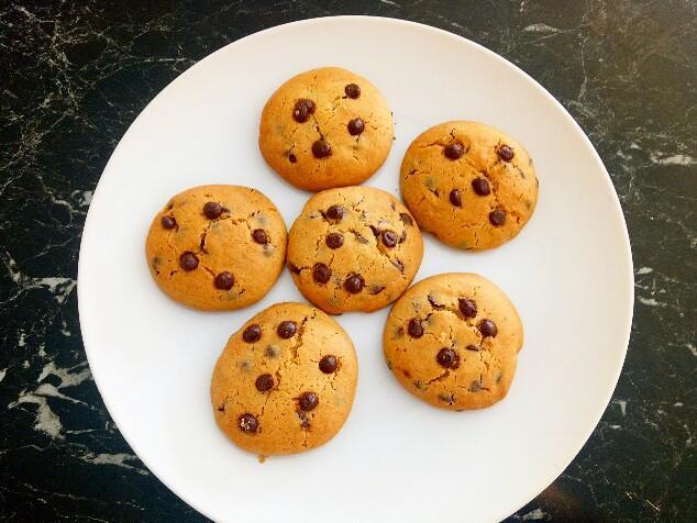 巧克力豆餅乾(無泡打粉)