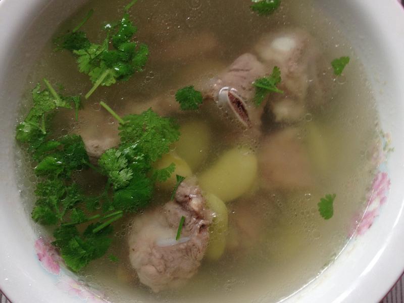 皇帝豆排骨湯