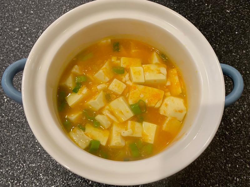 素蟹黃豆腐煲