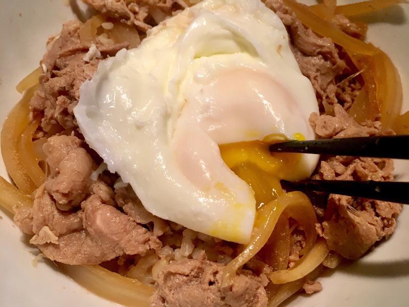 簡單煮日式丼飯