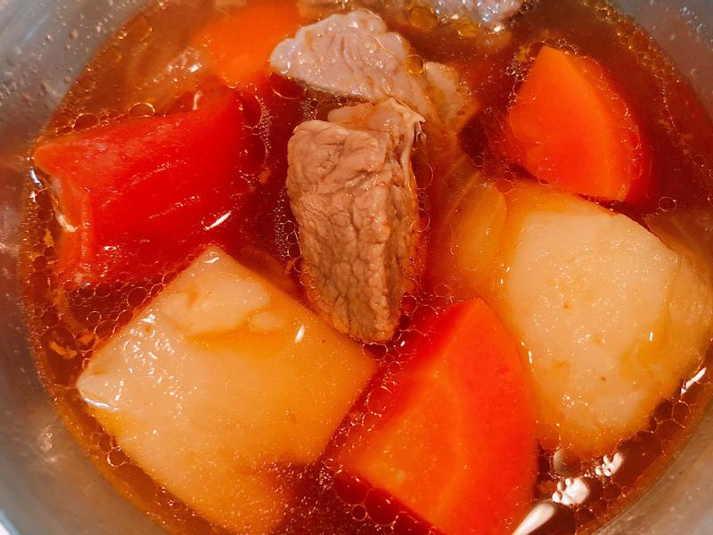 牛肉羅宋湯(壓力鍋版)