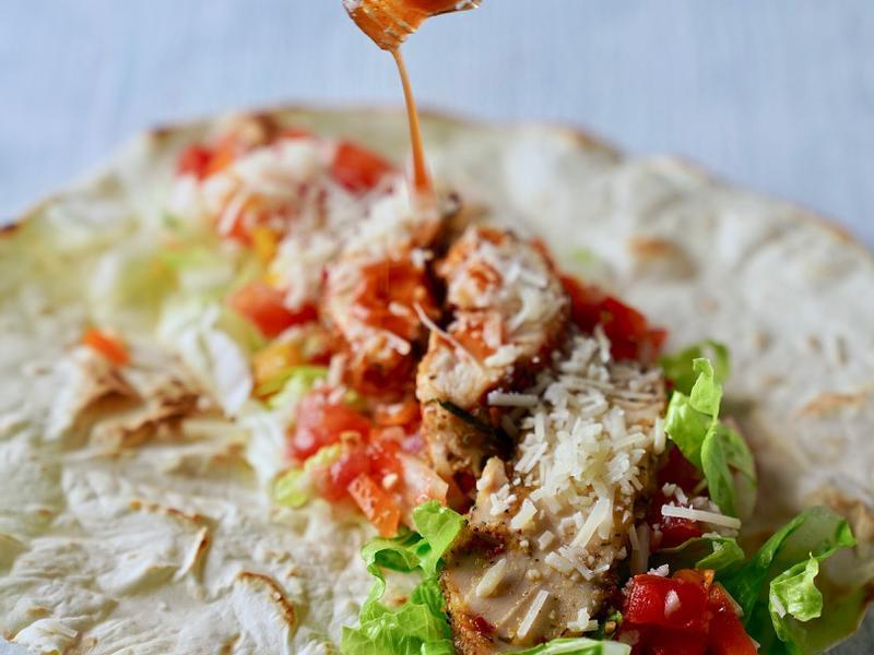 舒肥墨西哥雞肉捲 Tortilla