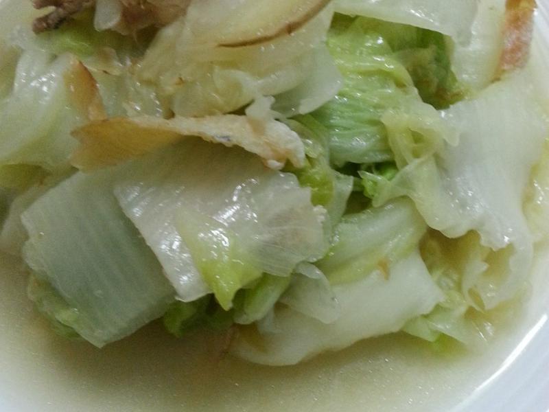 扁魚悶白菜