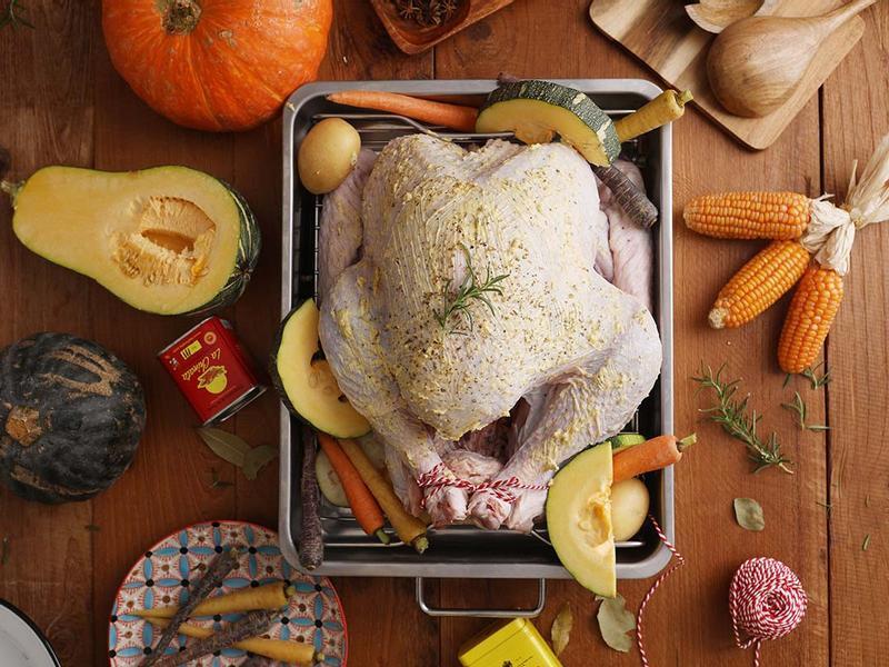 【湯瑪仕上菜】-普羅旺斯燉菜烤火雞