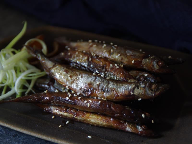 佃煮柳葉魚