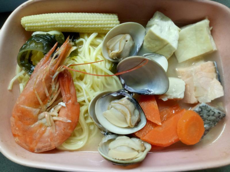 味增海鮮拉麵