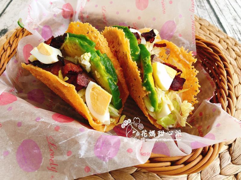 培根鮮蔬起士餅盒(營養好料理)