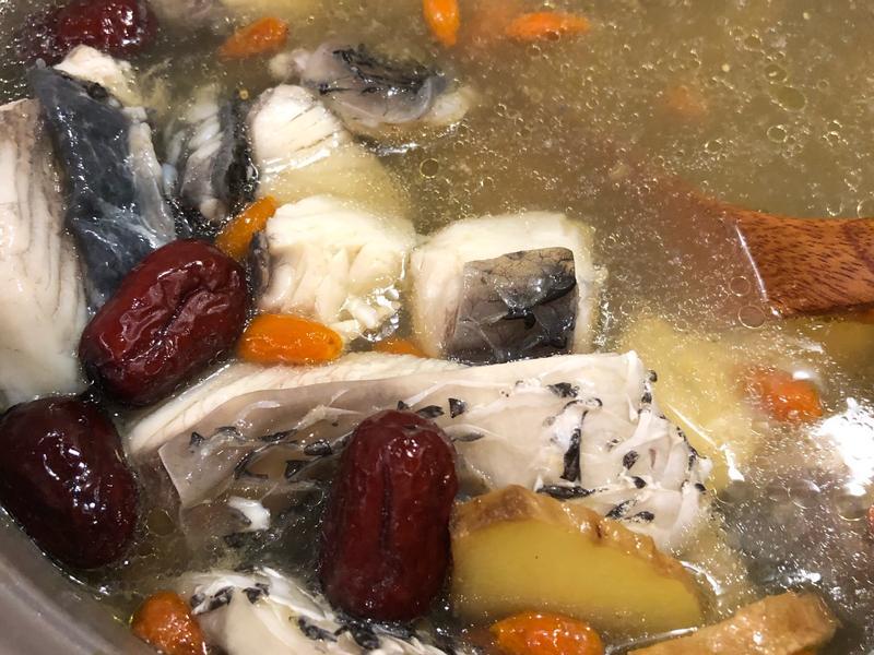 紅棗枸杞鱸魚湯