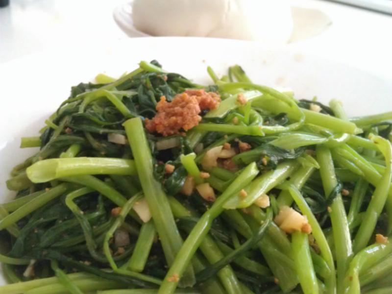 品靚上菜-魚卵空心菜【黃金玄米油清爽料理】