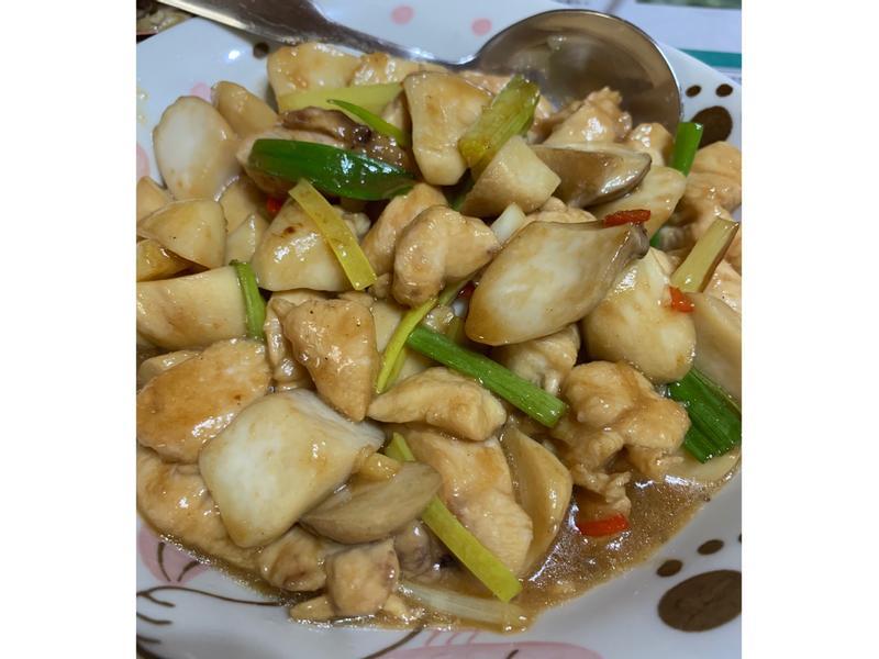 鹹香辣🌶️炒雞柳(雞胸肉可比照此做法)