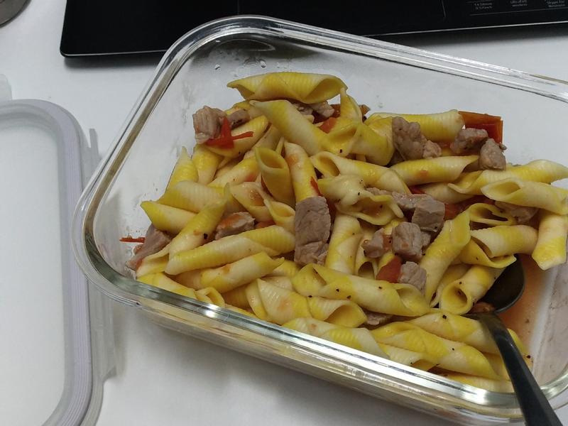 【快煮鍋料理】豬肉蕃茄筆管麵