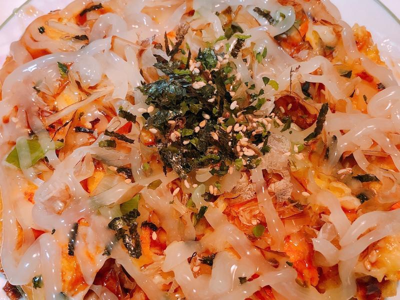 日式大阪燒❤️(起司豬肉)