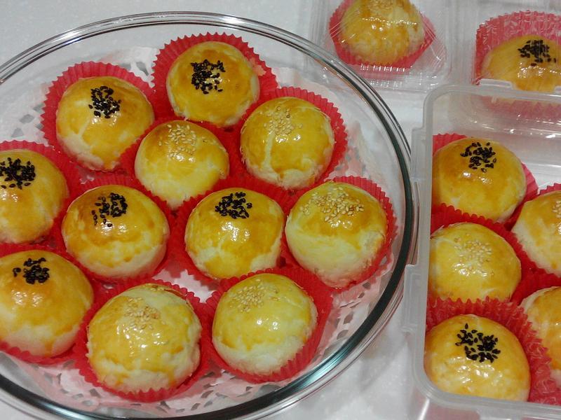 低膽固醇的蛋黃酥(20顆)